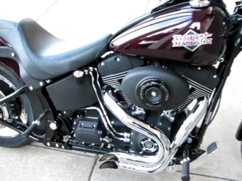 Harley Night Train Mean Mother Exhaust Youtube