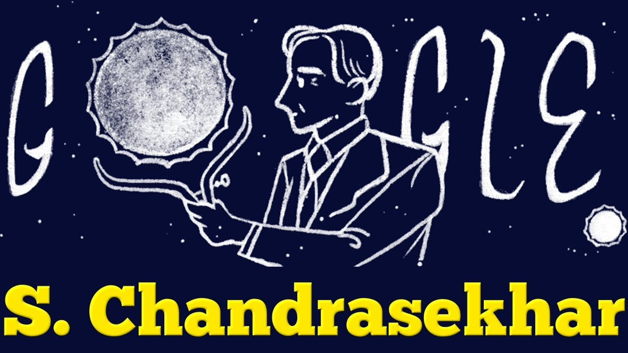 S. Chandrasekhar: Google honors first astrophysicist to win Nobel Prize