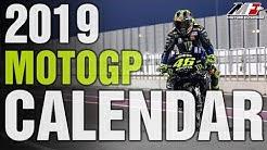 Moto GP 2019 calendar // Jadwal Moto GP 2019 // calendario Moto Gp 2019