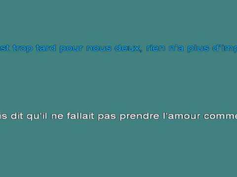 A Present Tu Peux T'En Aller 1 [karaoke]