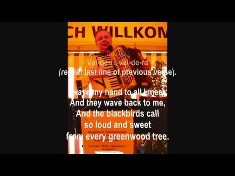 The Happy Wanderer (Mein Vater war ein Wandersmann) - Vocal and music