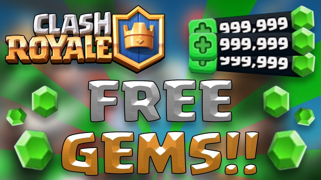 free gems for clash royale 2018