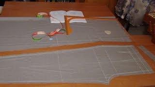 Как раскроить брюки сразу на ткани: ПП(, 2014-03-18T08:47:22.000Z)