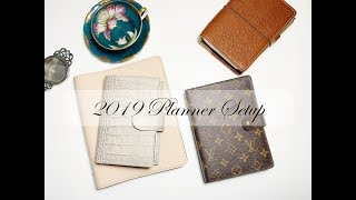 2019 Planner Setup / Gillio Appunto A6 Stalogy/ Louis Vuitton MM Agenda