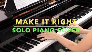 BTS 방탄소년단 - Make It Right Piano Cover (악보/Sheet Music)