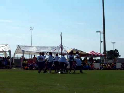 Madison County Central School Students Dance Around the Maypole