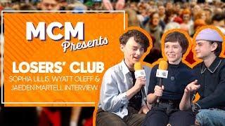 Losers Club: Sophia Lillis, Wyatt Oleff and Jaeden Martell It Interview | MCM Presents