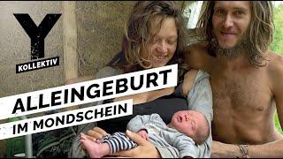 Alleingeburt - Aussteigerin bekommt ihr Baby allein im Wald