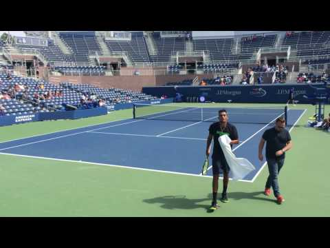 Nick Kyrgios and Jack Sock Practice US Open 2016