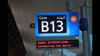 نداء طيران الإمارات لصعود الطائرة الى لندن هيثرو  Emirates Boarding Announcement In Arabic