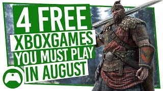 4 Free Xbox Games You MUST Play In August   Games With Gold