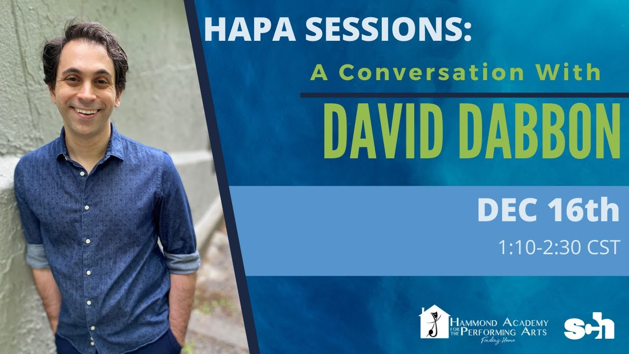 A Conversation with DAVID DABBON