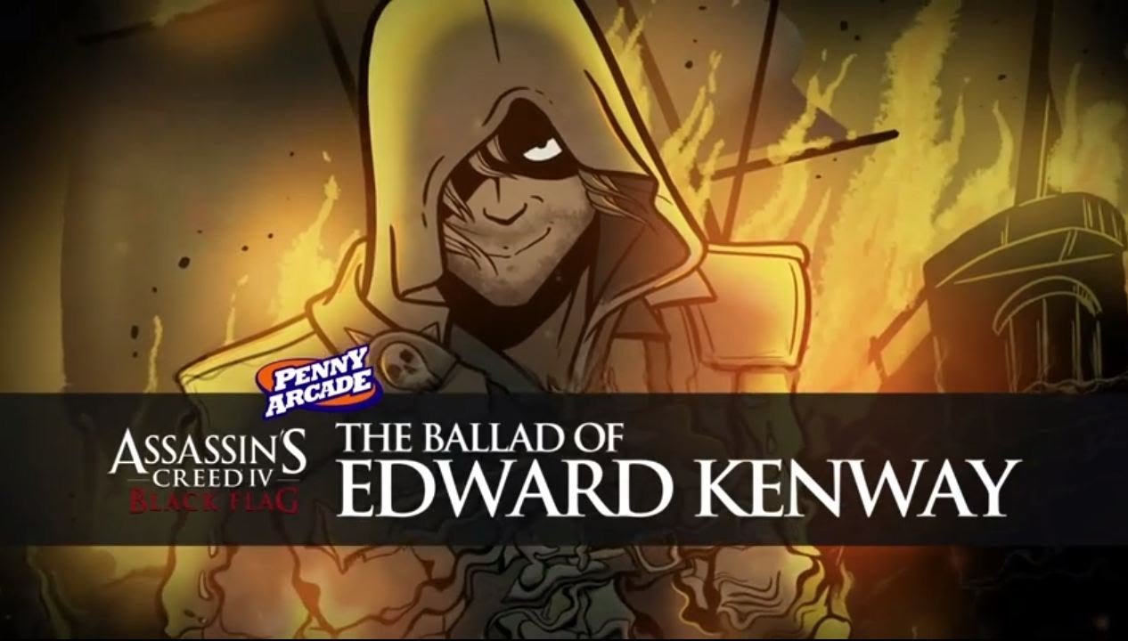 Assassin S Creed Iv Black Flag The Ballad Of Edward Kenway