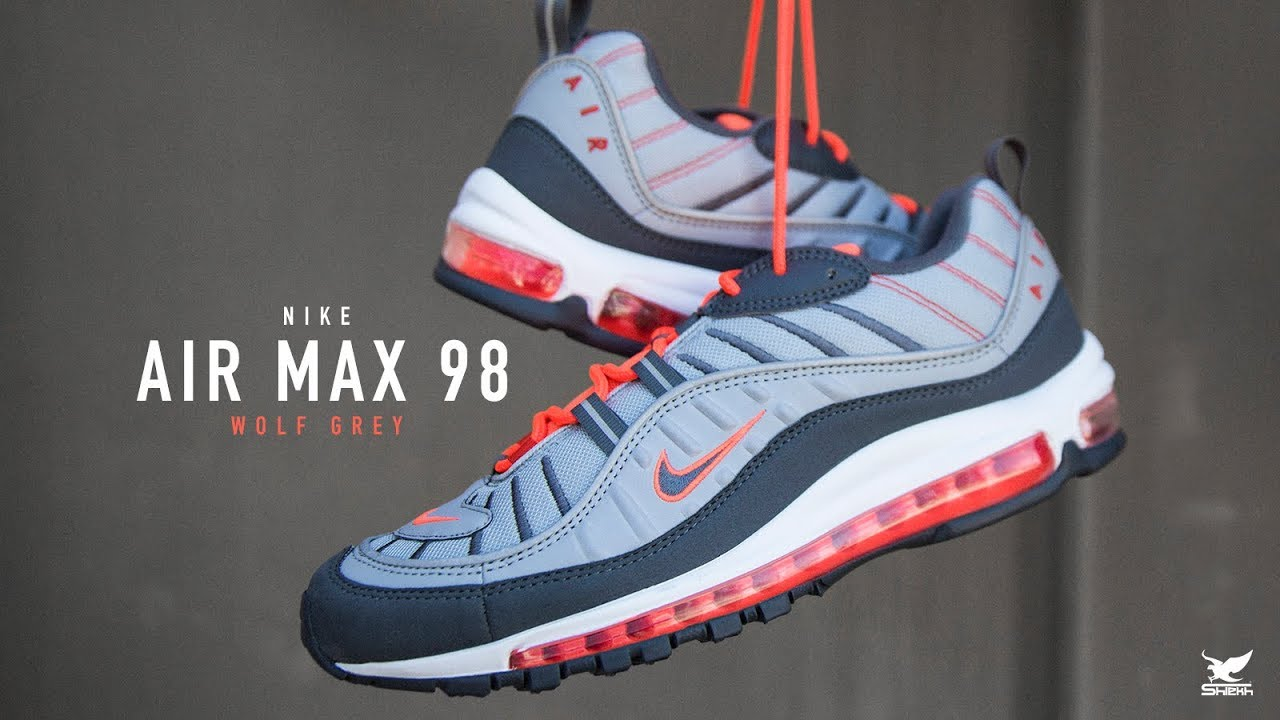 FIRST LOOK: Nike Air Max 98 'Wolf Grey' | SHIEKH