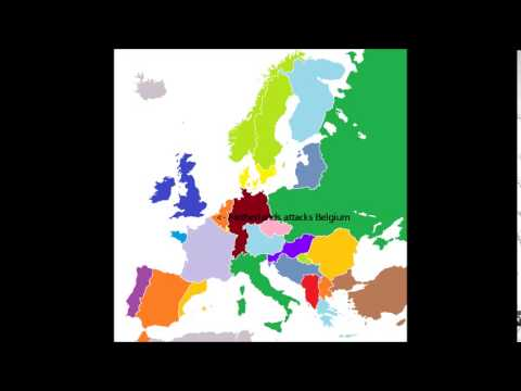 Europe In 2014 2050 Simulation With Realistic Ideas Youtube