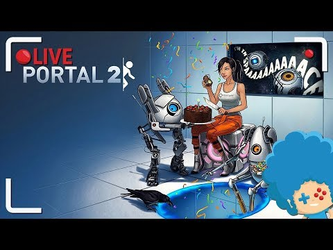 LIVE z Portal 2 - rozdział 6-8 | PYRLaDOS, ciastko i lama