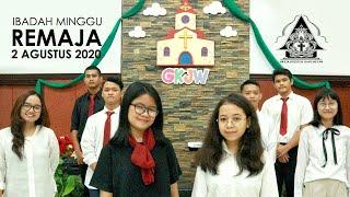 Ibadah Minggu 2 Agustus 2020 untuk Remaja