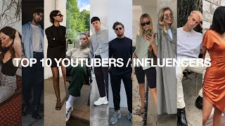 TEN Fashion YouTubers / Influencers You Should Check Out