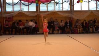 Художественная гимнастика. Дети 2008 г.р.. Давыдова Даша