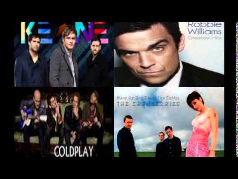 RobbieWilliams,TheCranberries,Keane,Coldplay