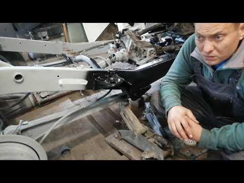 обработка рамы автомобиля