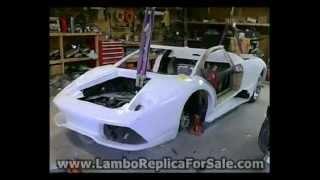 Lamborghini Murcielago LP640 Replica Update: Building Lambo Doors, Wheels Delivered.