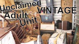 We bought A Unclaimed 1980's VINTAGE Adult Storage Unit