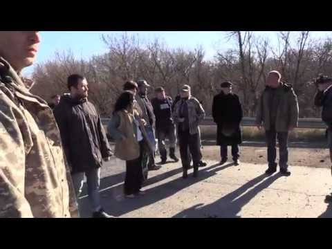 Exchange of Prisoners near Shchastya in Luhansk Region