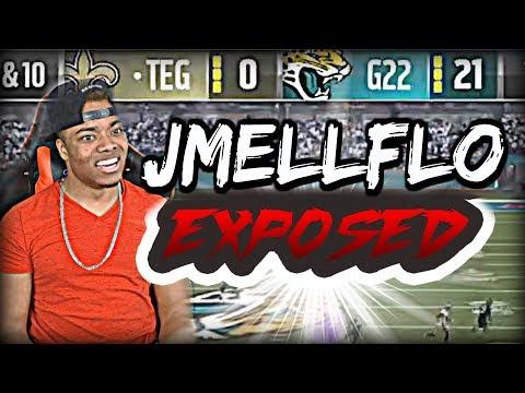 JMELLFLO EXPOSED 21-0...I HATE MADDEN 17 | Madden 17 Ultimate Team Gameplay