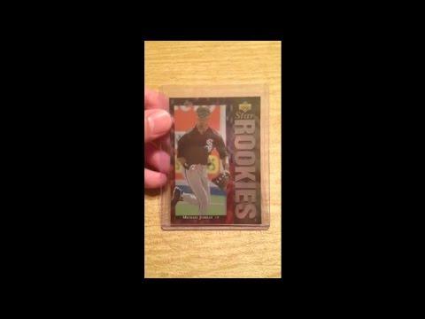 1994 Michael Jordan Upper Deck Star Rookies Baseball Card #19