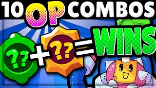 10 Gadget + Star Power Combos that BREAK the Game! | BUY THESE!