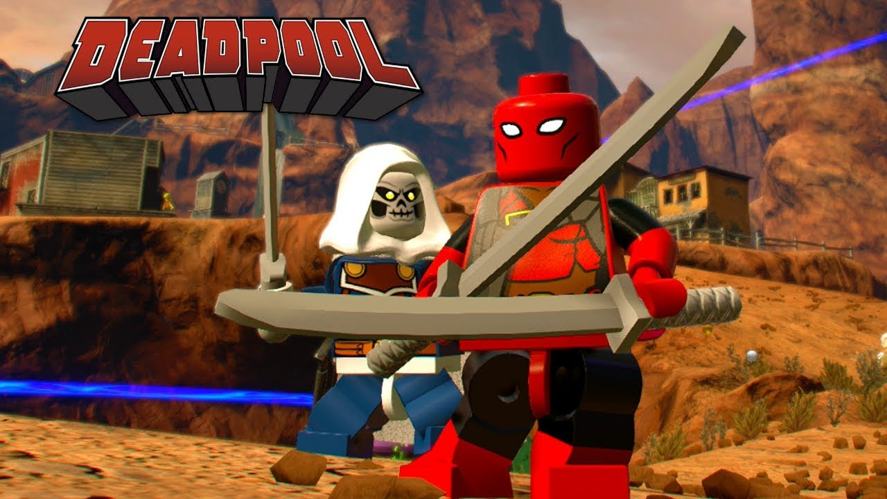 lego marvel super heroes 2 deadpool free roam gameplay