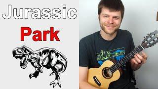 Jurassic Park Theme Beginner Ukulele Tutorial