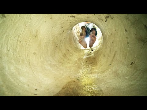 Build The Amazing Tunnel Underground House And Water Slide To Swimming Pool