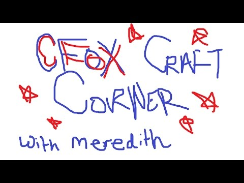 CFOX Craft Corner - Vol. 1: Advent Calenders