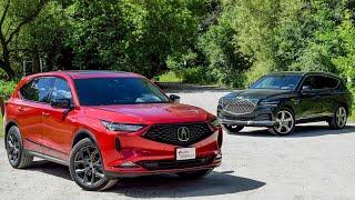 2021 Acura MDX vs 2021 Genesis…