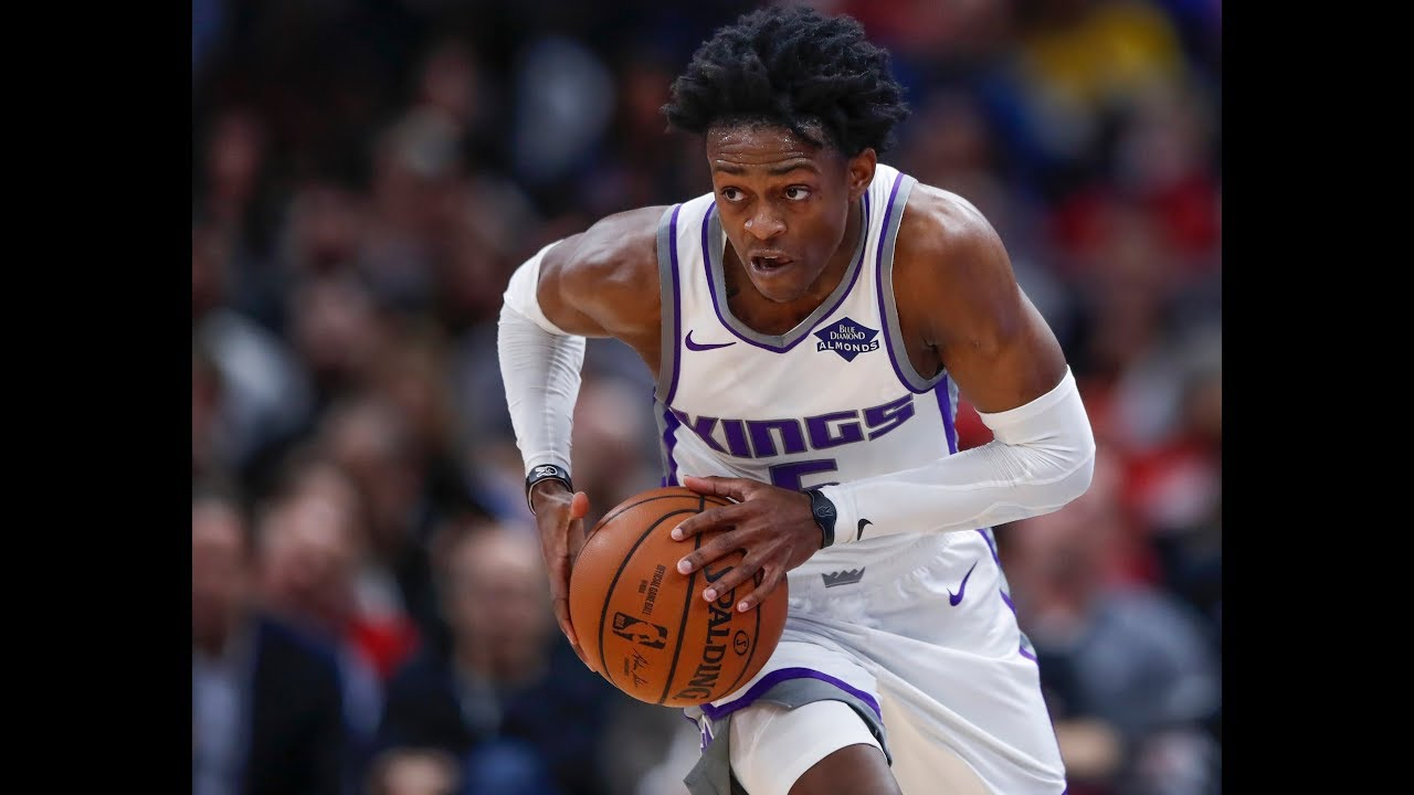 De'Aaron Fox is TOO FAST   2018 Transition Mix for Kings ...
