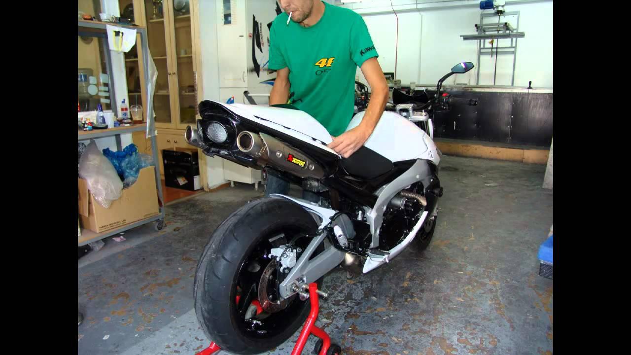 tuning moto gsr 600