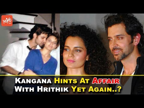 Kangana Hints At Affair With Hrithik Yet Again..? | Bollywood | Kites | queen | Dhoom-2 | YOYO Times