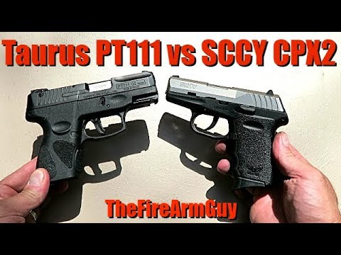 Taurus PT111 VS SCCY CPX2 - Budget Pistol Battle - TheFireArmGuy