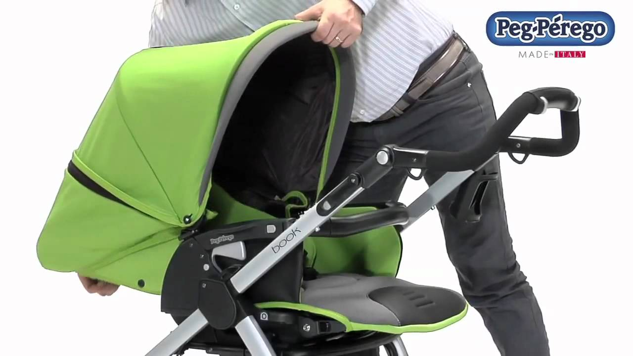 Peg Perego Book Pop Up Stroller Review by Baby Gizmo - YouTube