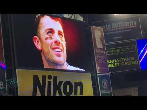 David Wright Postgame Tribute & Goodbye Speech 9/29/18 Mets vs Marlins at Citi Field