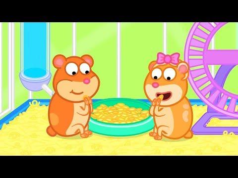 Lion Family | Hamster #1. Freedom | Cartoon For Kids