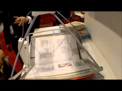 iON Book Saver Scanner for DIY e-book conversion