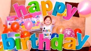 День рождения Вики / Открываем подарки / Распаковка подарков / Большой Торт / ВЛОГ