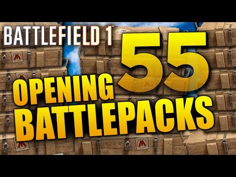 Battlefield 1: Opening 55 Battlepacks for...