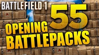 Battlefield 1: Opening 55 Battlepacks for LEGENDARY PUZZLES! (+ Superior Battlepacks)