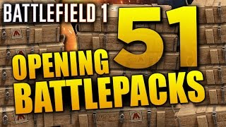 Battlefield 1: Opening 51 Battlepacks for LEGENDARY PUZZLES!