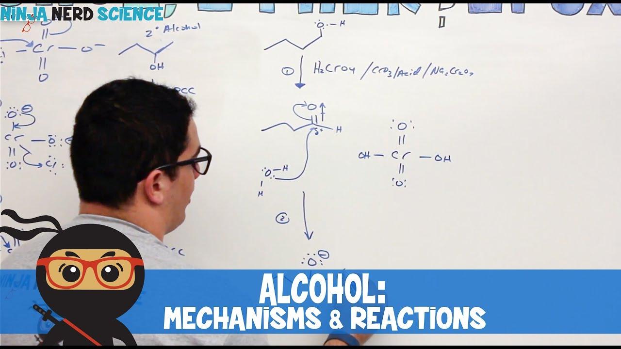 Organic Chemistry: Alcohol Mechanisms & Reactions