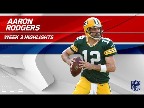 Aaron Rodgers Highlights vs. Cincinnati | Bengals vs. Packers | Wk 3 Player Highlights